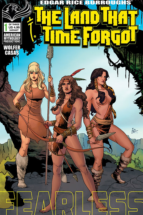 The Land That Time Forgot: Fearless #1 Variant Cvr