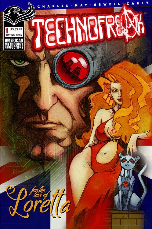 Technofreak #1 Digital PDF Edition (MR)