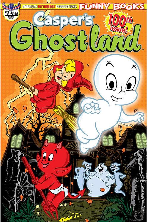 Casper's Ghostland #1 100th Issue Party Time Hasson & Haeser Cvr