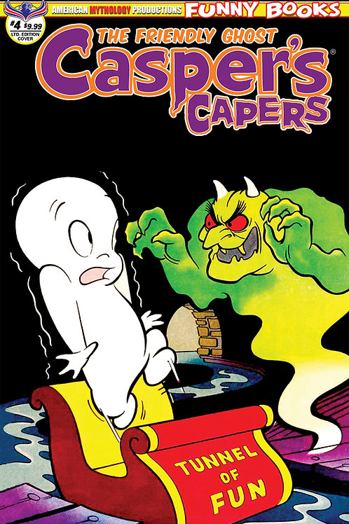 Casper's Capers #4 Ltd Ed 1/350 Retro Animation Cvr