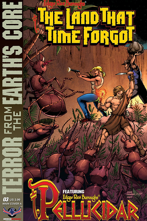 The Land That Time Forgot / Pellucidar #3 Cvr A Connecting