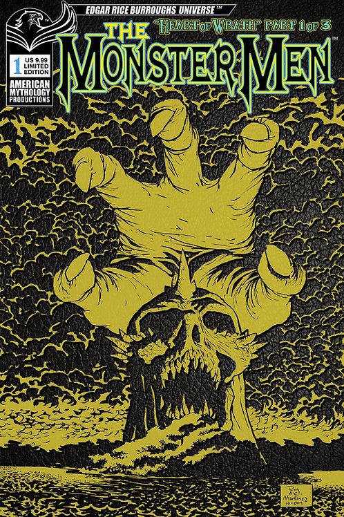 Monster Men: Heart of Wrath #1 1/350 Ltd Ed Cvr