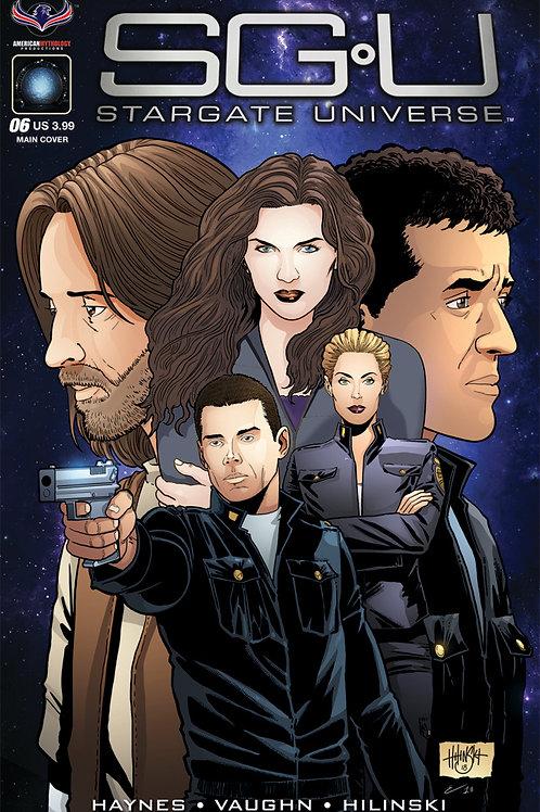 Stargate Universe Back to Destiny #6 Main Hilinski Cover