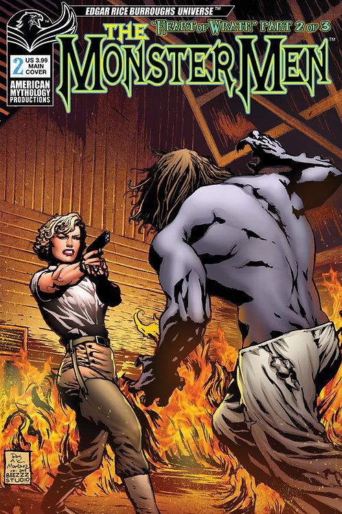 Monster Men: Heart of Wrath #2 Martinez Main Cvr
