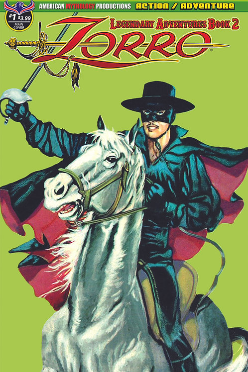 Zorro Legendary Adventures Book II #2 Digital PDF