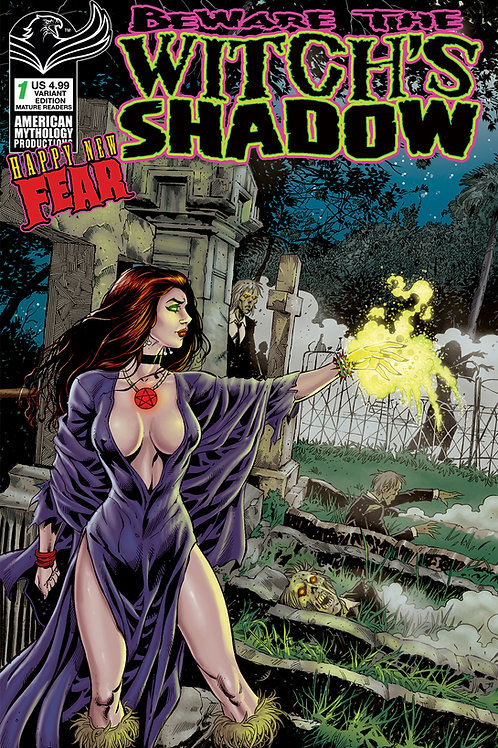 Beware the Witch's Shadow: Happy New Fear #1 Calzada Main Cvr (MR)
