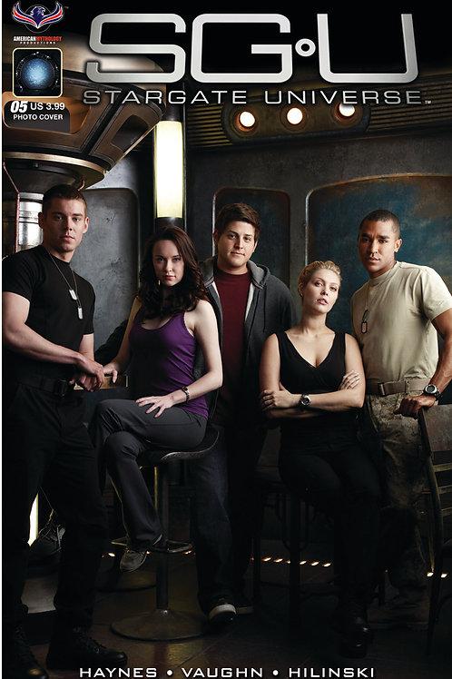 Stargate Universe Back to Destiny #5 Photo Cover