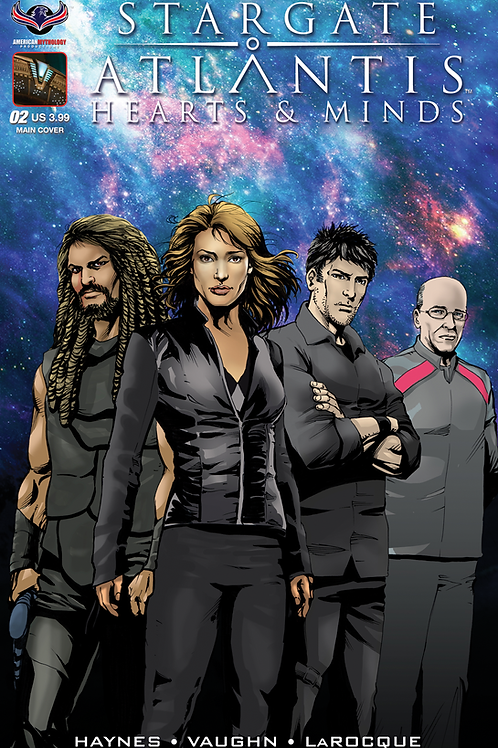 Stargate Atlantis Hearts & Minds #2 LaRocque Main Cover