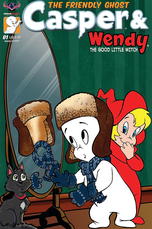 Casper And Wendy #1 Main Gregory Cvr