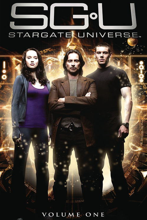 Stargate Universe Vol 1 Trade Paperback Graphic Novel Ltd Ed Photo Cvr