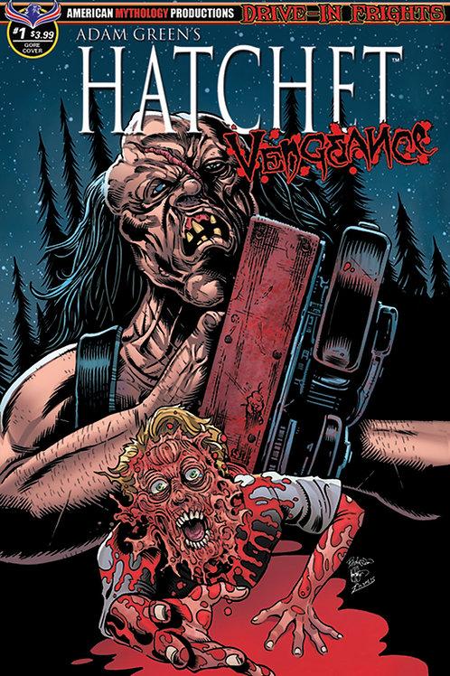 Adam Green's Hatchet Vengeance #1 Blood & Gore Cvr