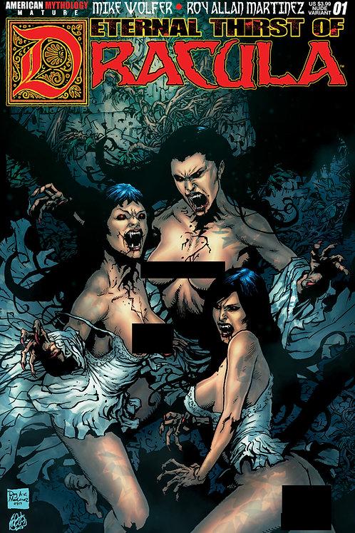 Eternal Thirst of Dracula #1 Brides Nude Cvr
