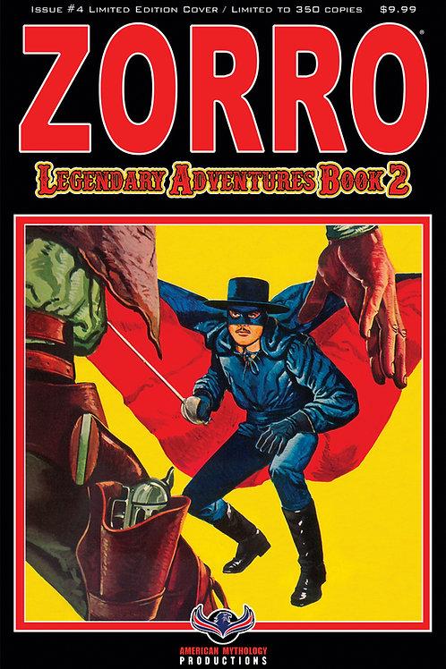 Zorro Legendary Adventures Book II #4 Blazing Blades Ltd Ed 1/350 Cvr
