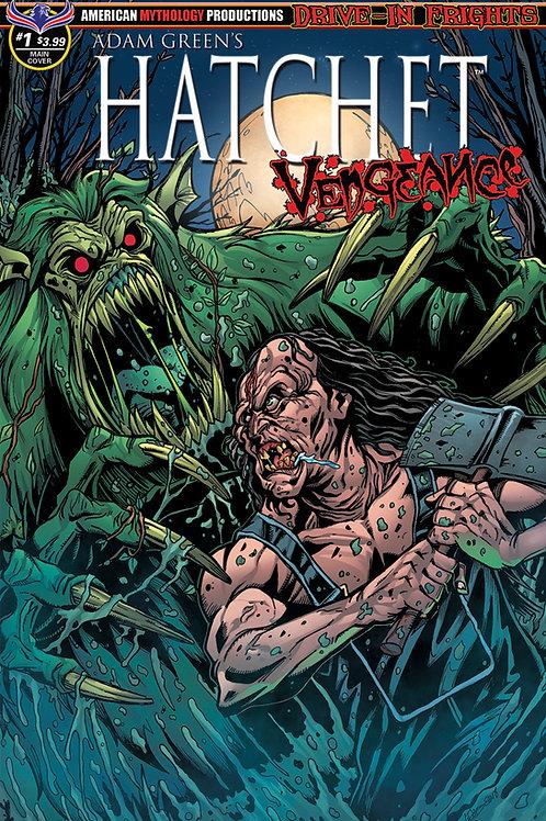 Adam Green's Hatchet Vengeance #1 Calzada Main Faceoff Cvr
