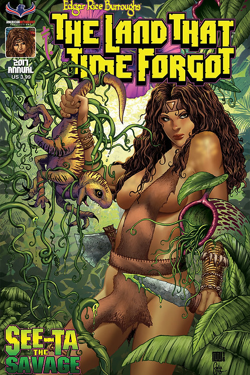 The Land That Time Forgot Annual See-Ta the Savage #1 Wolfer Cvr