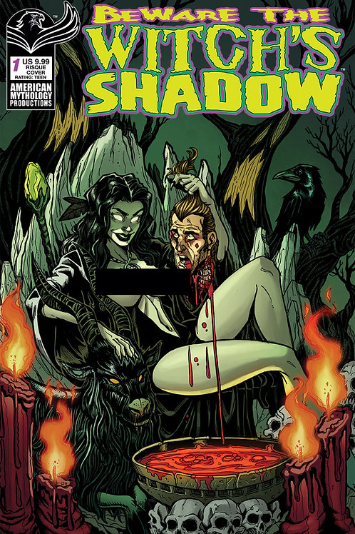 Beware the Witch's Shadow #1 Calzada Risque Cvr (MR)