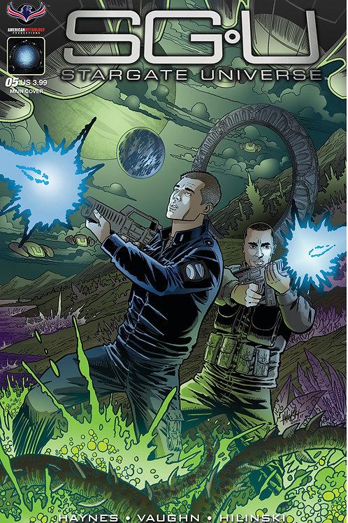 Stargate Universe Back to Destiny #5 Main Hilinski Cover