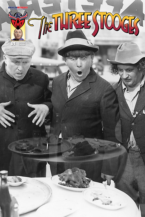 The Three Stooges #1 Retailer Photo Cvr (Available