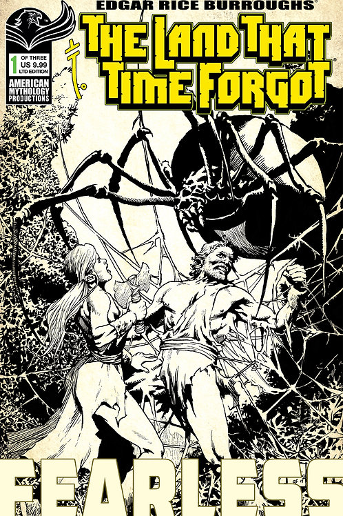 The Land That Time Forgot: Fearless #1 Ltd Ed 1/350 Pulp Cvr