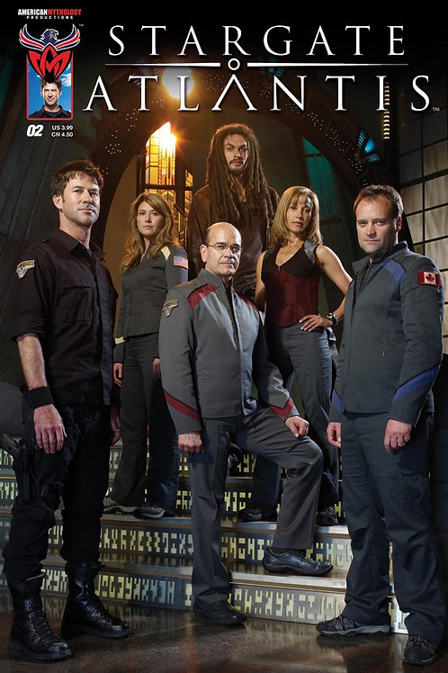 Stargate Atlantis #2 Photo Cover