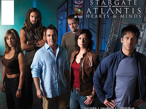 Stargate Atlantis Hearts & Minds #1 Flashback Photo Retailer Incentive Cover