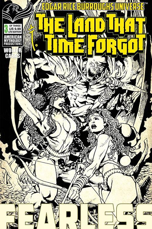 The Land That Time Forgot: Fearless #3 Ltd Ed 1/300 Cvr