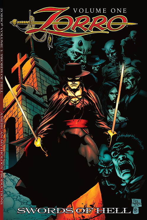 Zorro Swords of Hell Trade Paperback