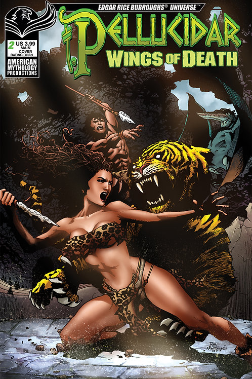 Pellucidar Wings of Death #2 Digital PDF