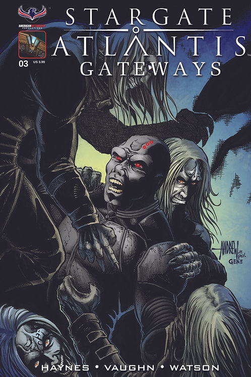 Stargate Atlantis Gateways #3 Villains Cvr