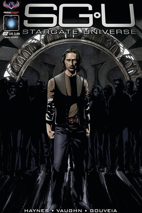 Stargate Universe Back to Destiny #2 LaRocque Main Cover