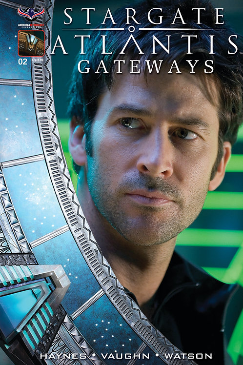 Stargate Atlantis Gateways #2 Sheppard Photo Cvr