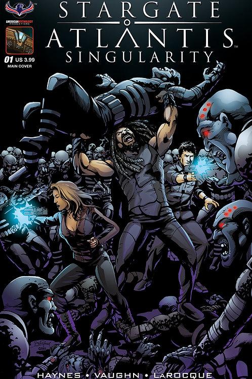 Stargate Atlantis Singularity #1 LaRocque Main Cover
