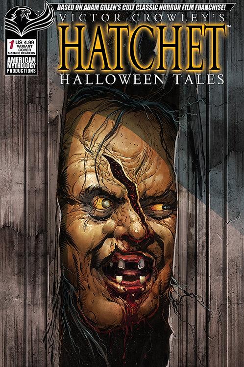 Victor Crowley's Hatchet Halloween Tales #1 Bonk Parody Cvr