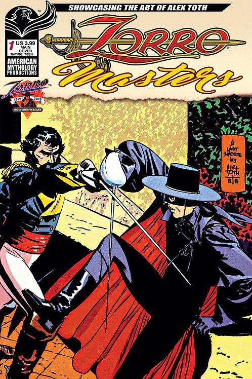 Zorro Masters Alex Toth #1 Main Cvr