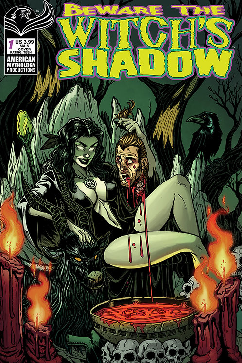 Beware the Witch's Shadow #1 Calzada Main Cvr