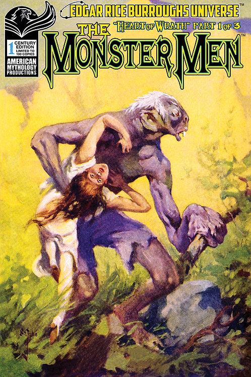 Monster Men: Heart of Wrath #1 1/100 Ltd Century Ed Cvr