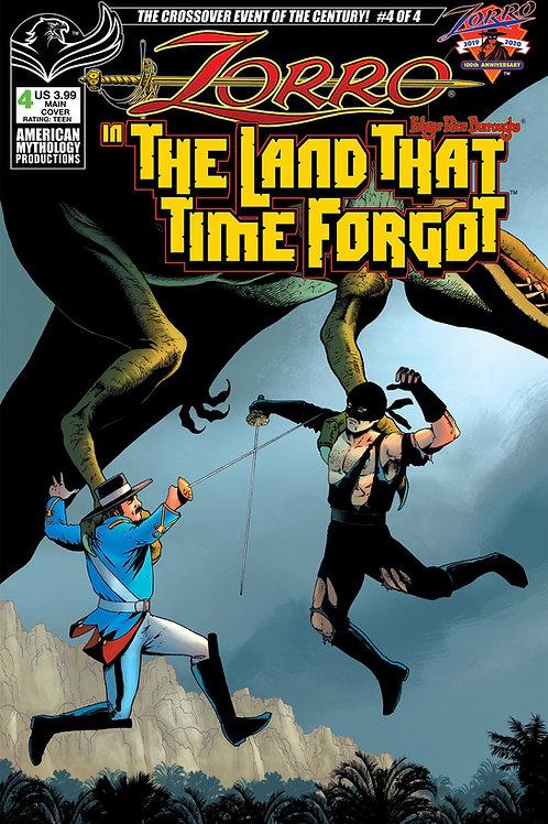Zorro In The Land That Time Forgot #4 Main Cvr