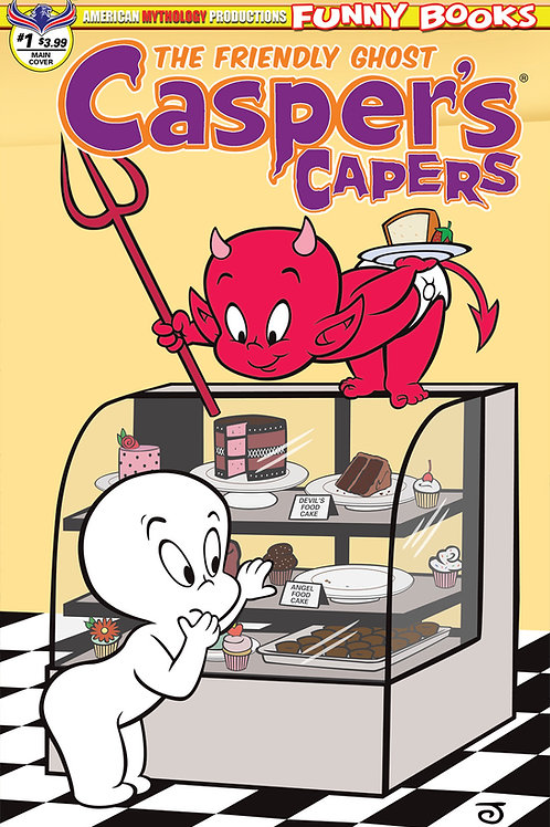 Casper's Capers #1 Main Scherer Cvr