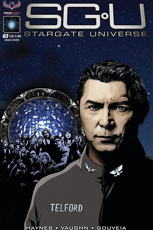 Stargate Universe Back to Destiny #3 LaRocque Main Cover