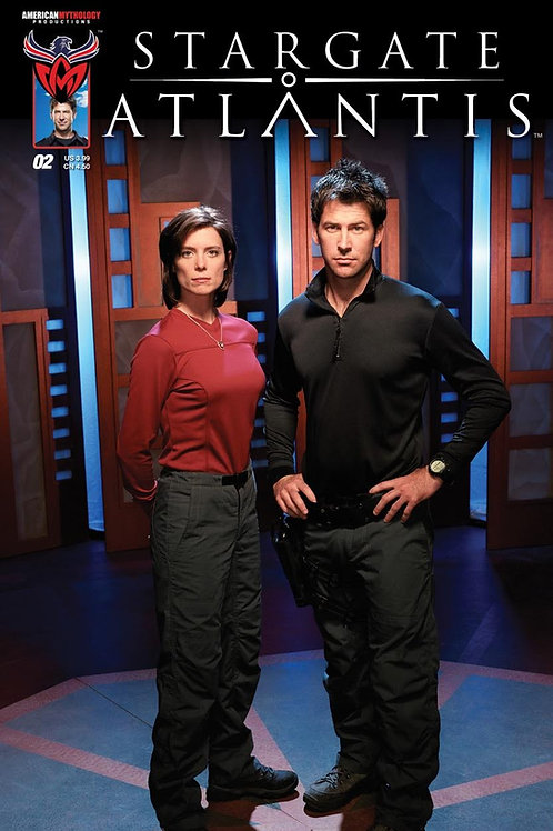 Stargate Atlantis #2 Retailer Incentive Photo Cover