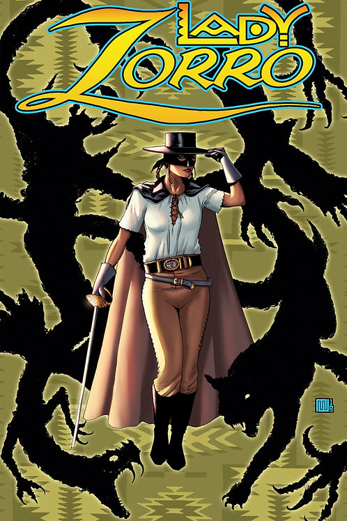Lady Zorro #1 1/350 Ltd Ed Pulp Cvr