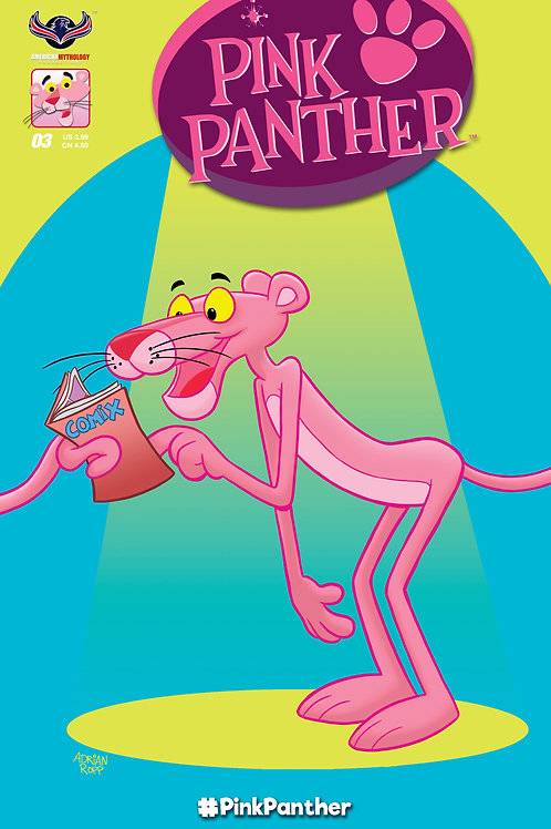 Pink Panther #2 Main Cover