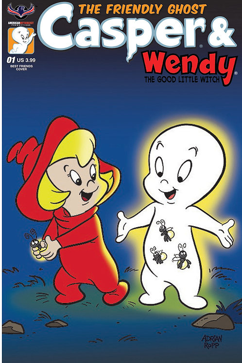 Casper And Wendy #1 Ropp Cvr