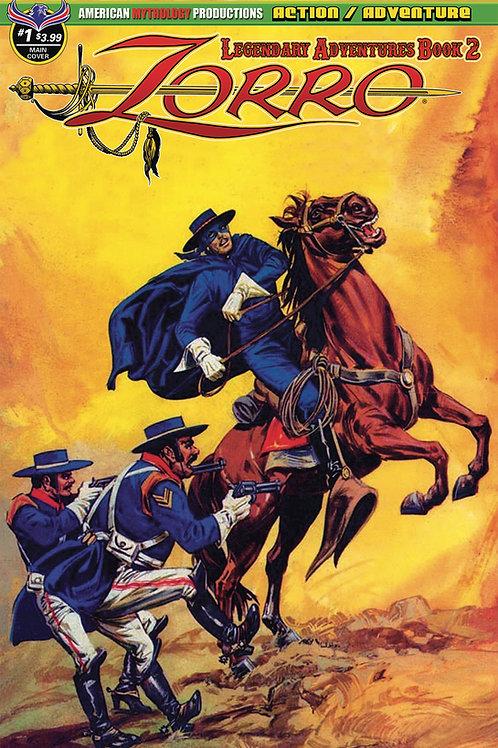 Zorro Legendary Adventures Book II #1 Digital PDF