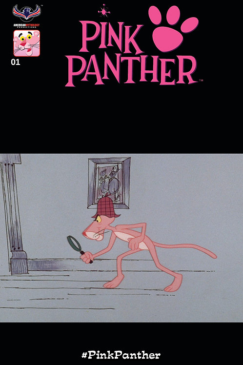 Pink Panther Snow Day #1 Retro Animation Incentive Cover (Pre  Order)