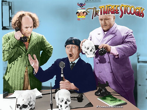 The Three Stooges FrankenStooge #1 Wrap Photo Cvr