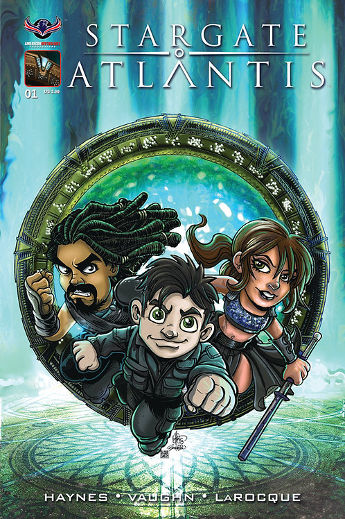 Stargate Atlantis Gateways #1 Gate Kids Cvr