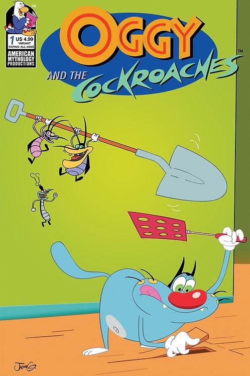 Oggy & the Cockroaches #1 Greenawalt Ltd Var Cvr