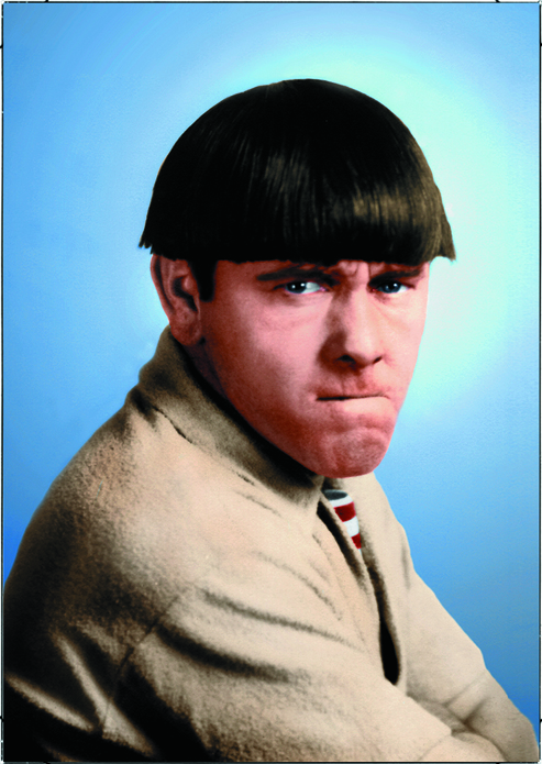 The Three Stooges - Moe Howard