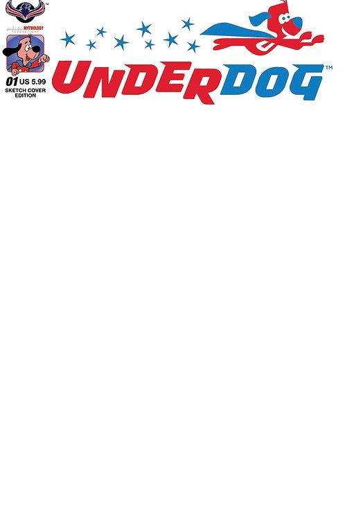 Underdog #1Blank Sketch Cover